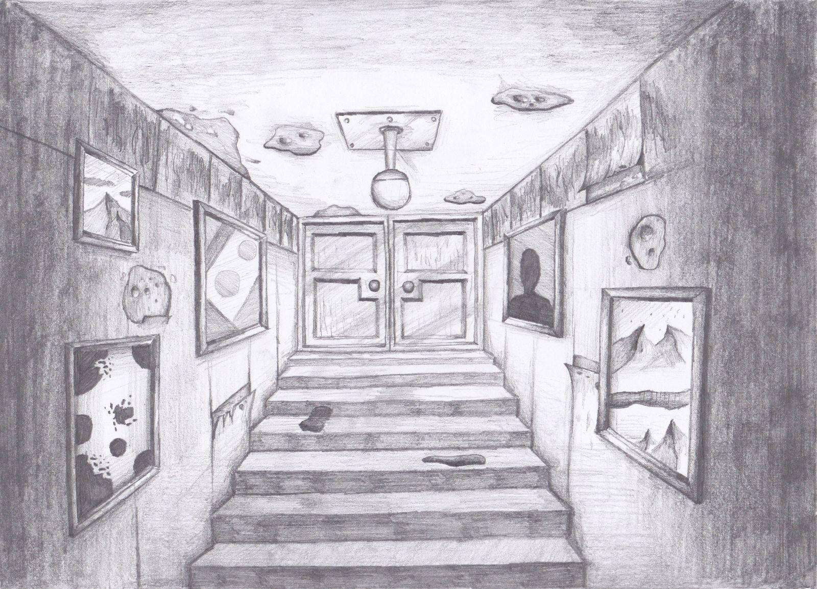 A Dark Stairway