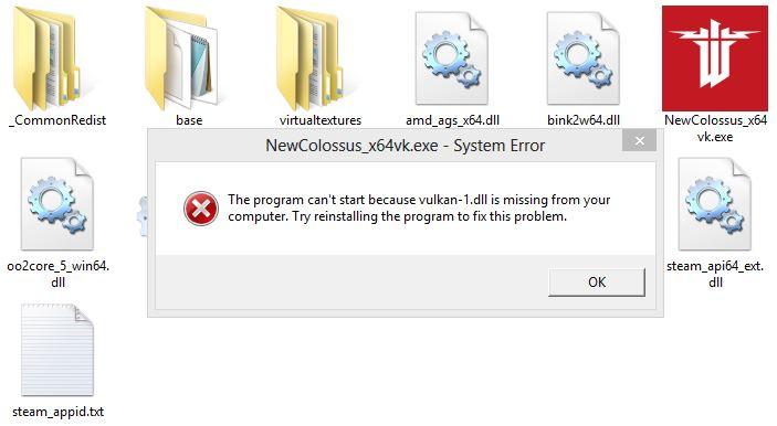 Free download vulkan-1. Dll.