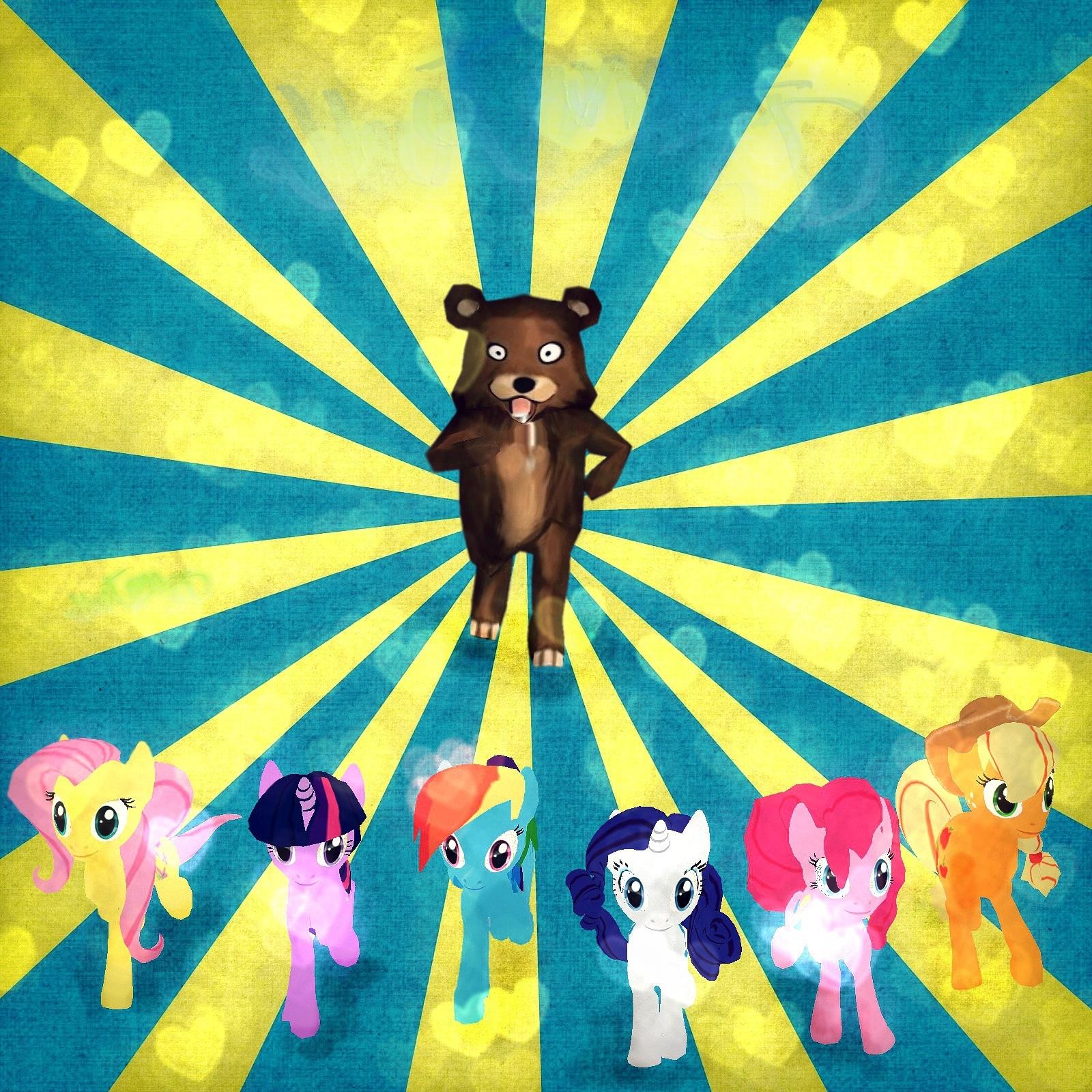 "[Wallpaper] ""Escape Pedo Bear"" Escapepedobear_byjhotam-jpg"