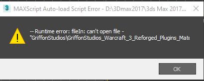 MAXScript Auto-load Script Error - D__3Dmax2017_3d.png