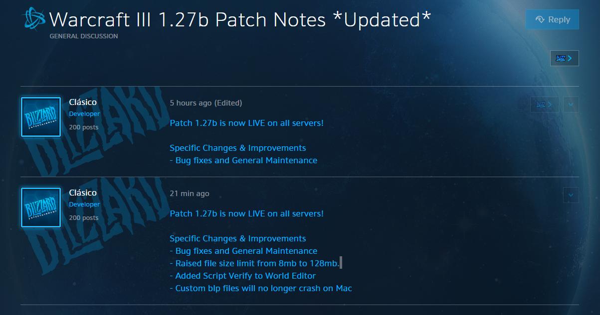 Warcraft 3 Патчи Изменения