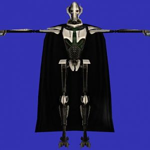 The General Grievous model that never got finished.