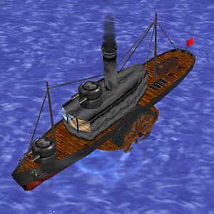 Metal Steam Boat