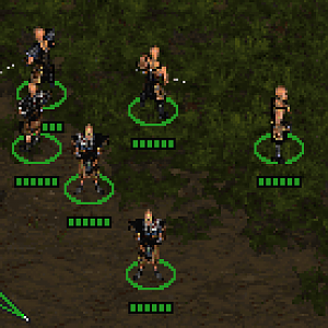 Idle Units - Swamp Camp (Gothic 1 RTS)