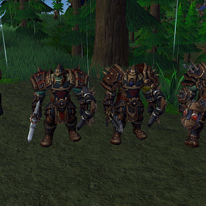 Krom'gar battalion warriors