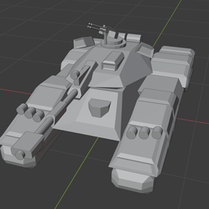 "Blender: Tank ""Manticore"""