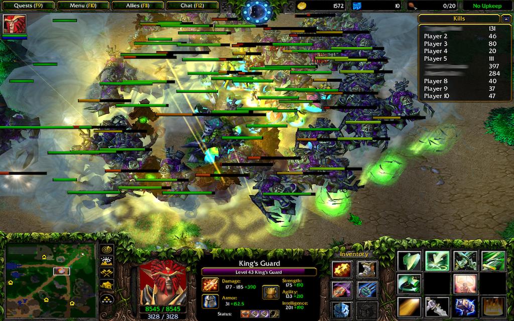 Карту custom hero survival