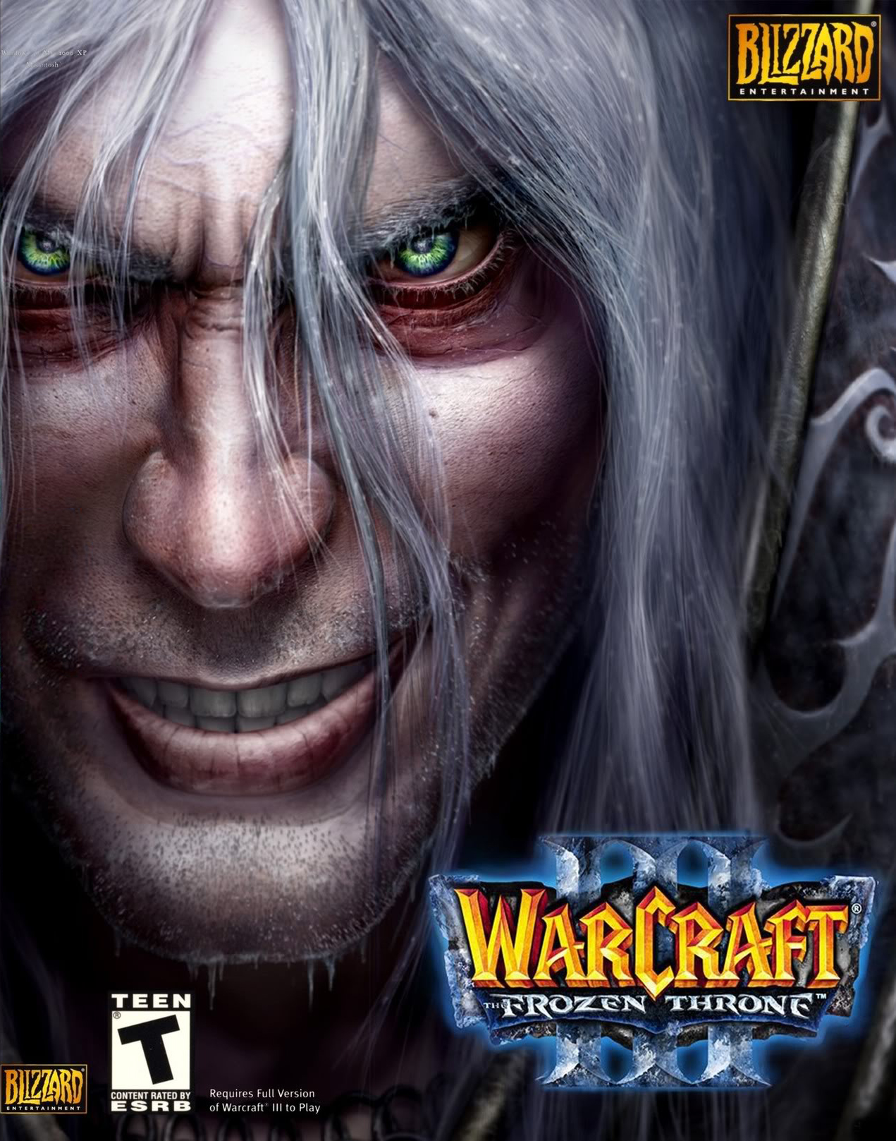 Warcraft 3 Frozen Throne Box Cover Hive